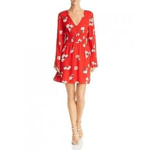 En Créme Women Floral Print A-Line Mini Dress